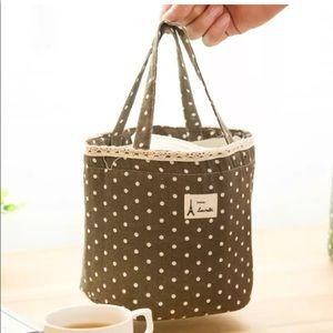 Handbags - 👣Cutest Paris Insulated lunch bag